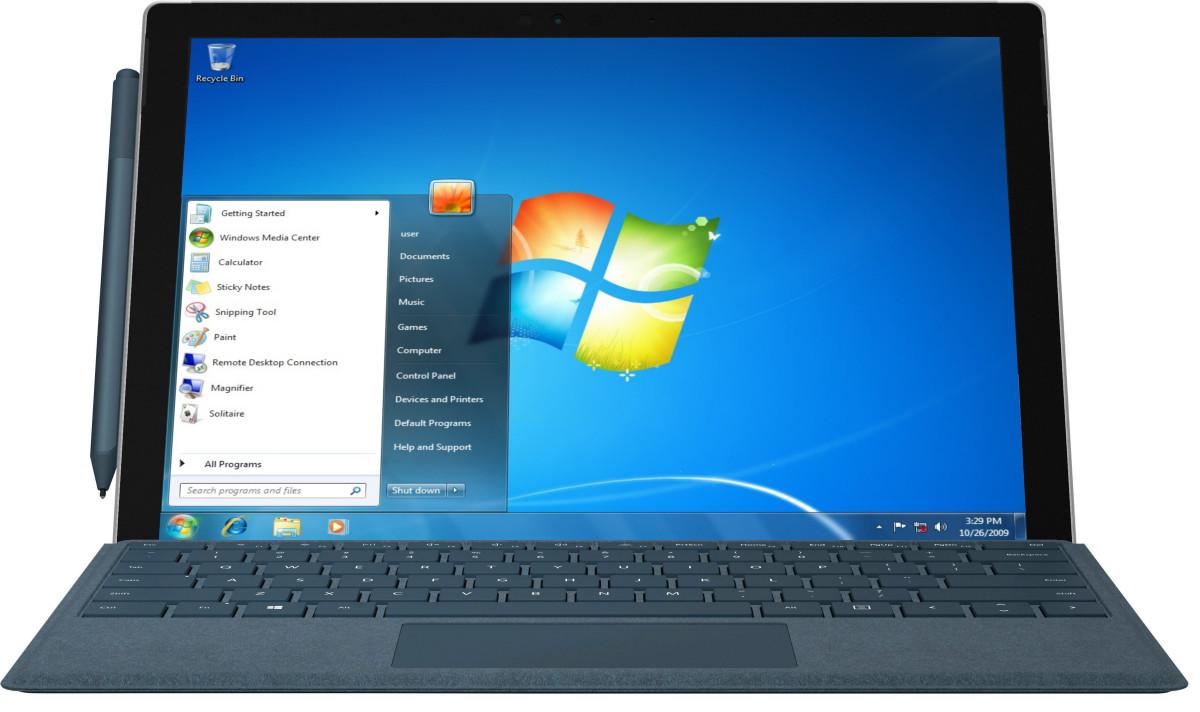 Остался ровно год поддержки Windows 7