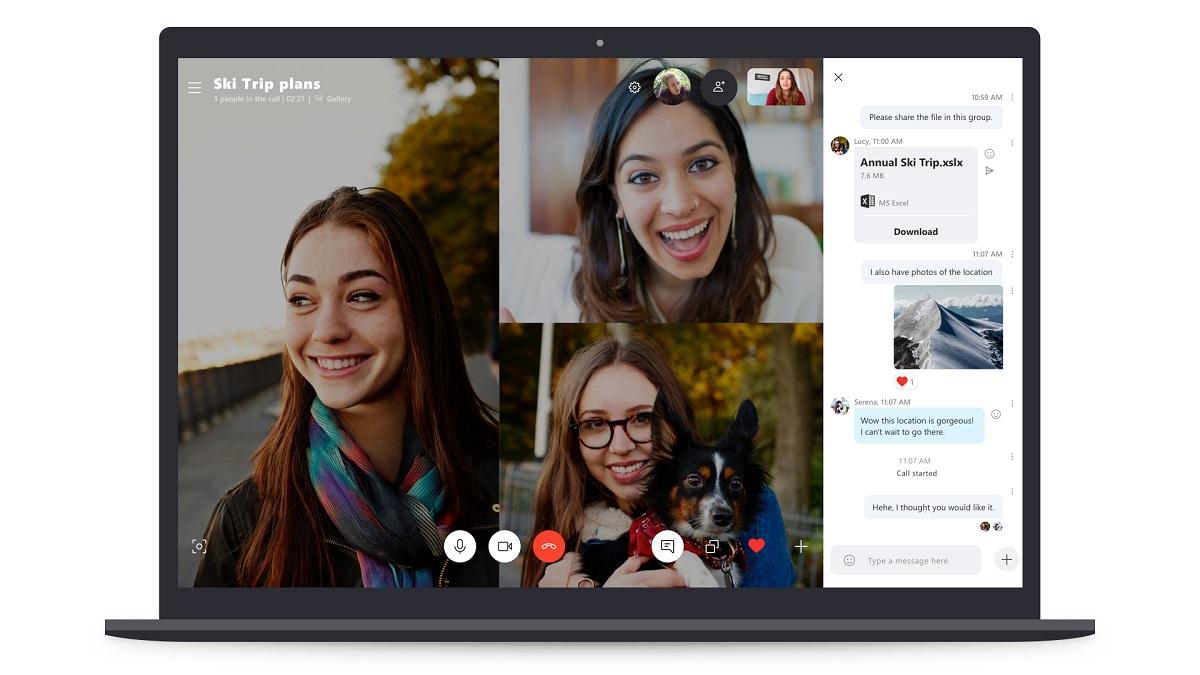 Microsoft работает над возвращением функций Skype 7 в Skype 8