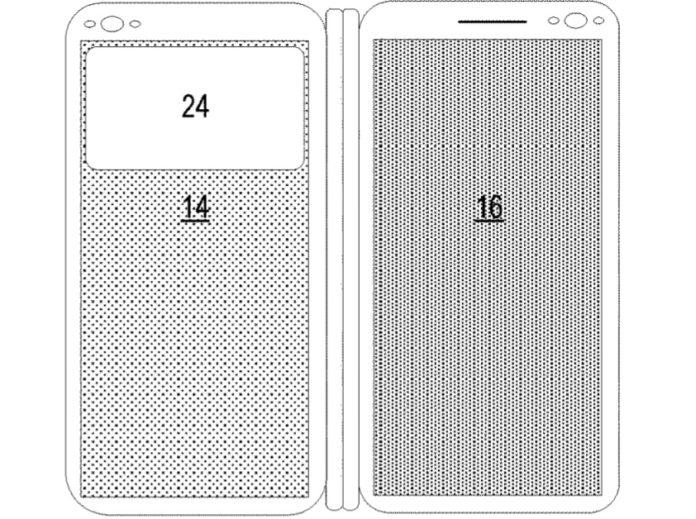 Патент Microsoft описывает процесс выполнения калибровки на устройствах с двумя дисплеями