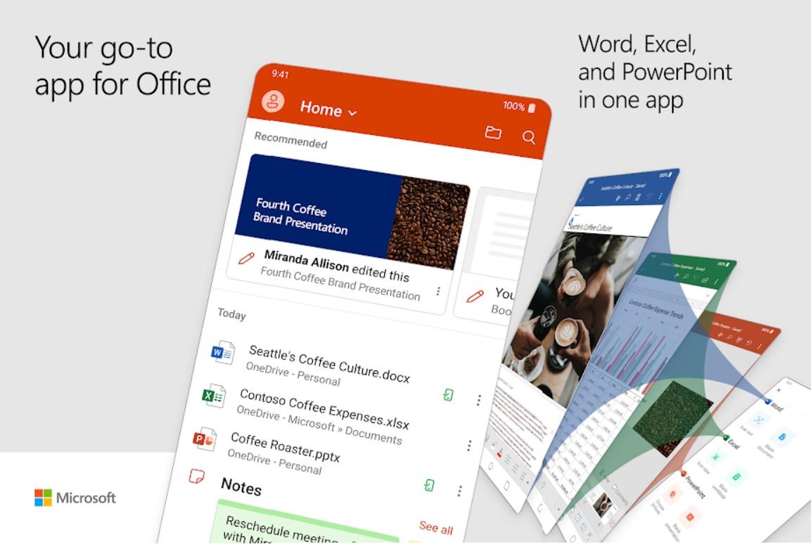 Microsoft представила три новые возможности, которыми обзаведутся мобильные офисные приложения