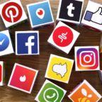SocialMediaIconsOnCubes