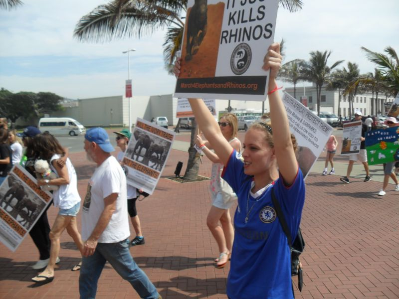 Global March for Elephants and Rhinos, Durban (1/4)