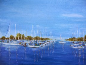 Mediterranean sailboats