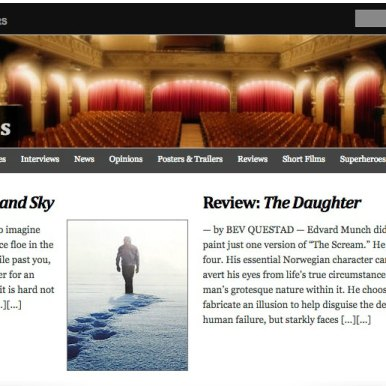It's Just Movies; film review, Antarctica Ice & Sky