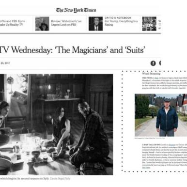 """A Man Called Ove"" in The New York Times"