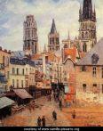 Rue-de-l'epicerie-at-Rouen,-on-a-Grey-Morning,-1898