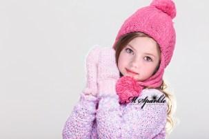 Renesmee Pink Mittens