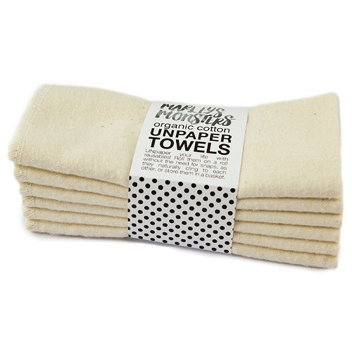 Unpaper towels are an eco-friendly alternative to paper towels