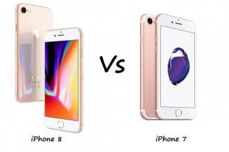 iPhone 7 vs 8