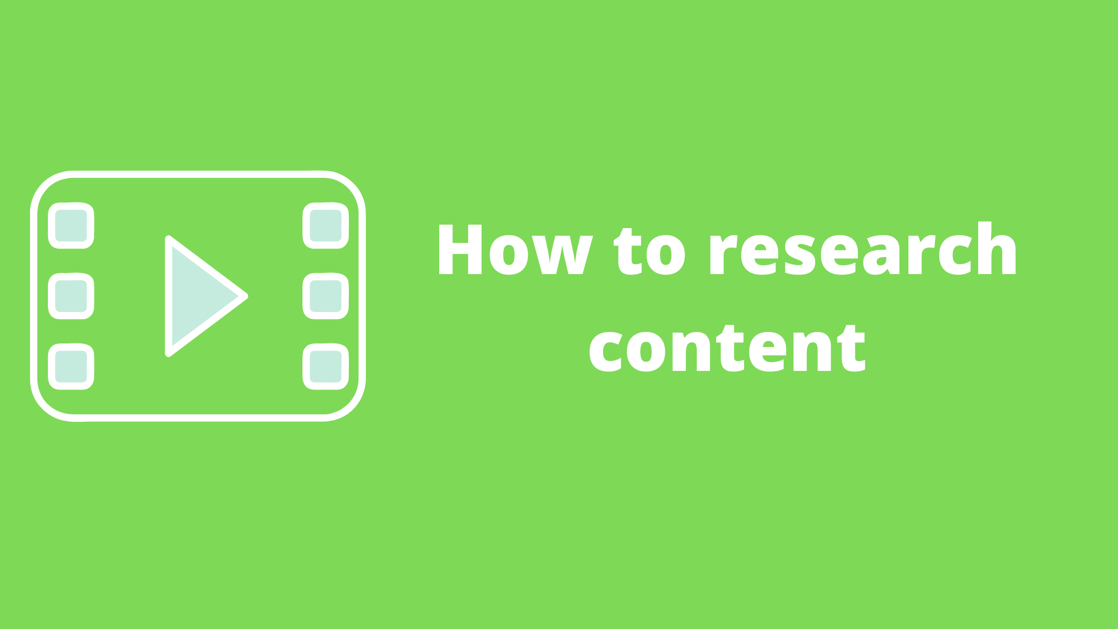 content research thumbnail