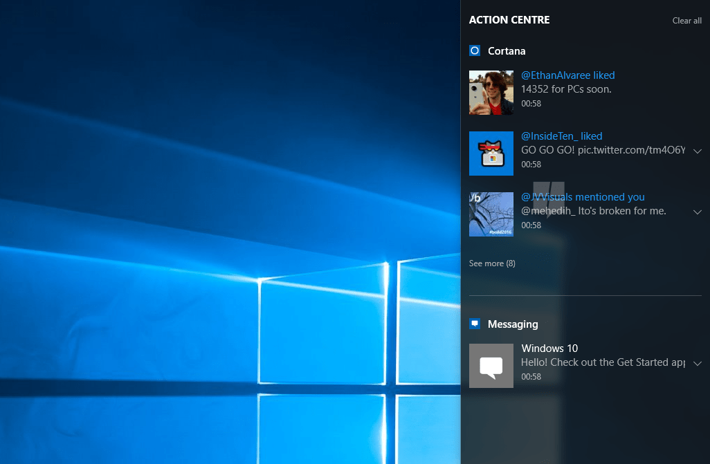 Windows 10's Notification Syncing now available for Windows 10 Mobile - MSPoweruser