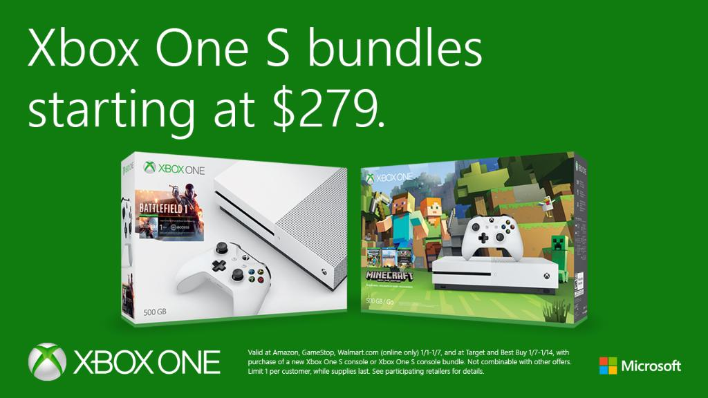 Microsoft Launch A 20 Post Holidays Xbox One Discount Available For 279 MSPoweruser