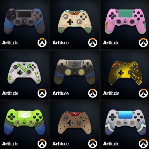 Overwatch Announces New Xbox One Custom Controllers
