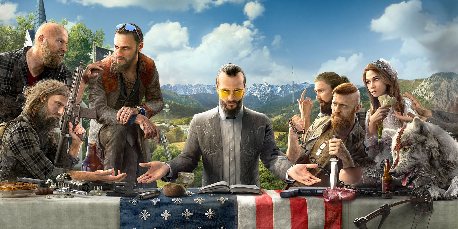 Far Cry 5 receives a host of trailers including character vignettes     With less than a month until its release  Ubisoft has been ramping up its  promotion of Far Cry 5  Set in the fictional location of Hope County   Montana