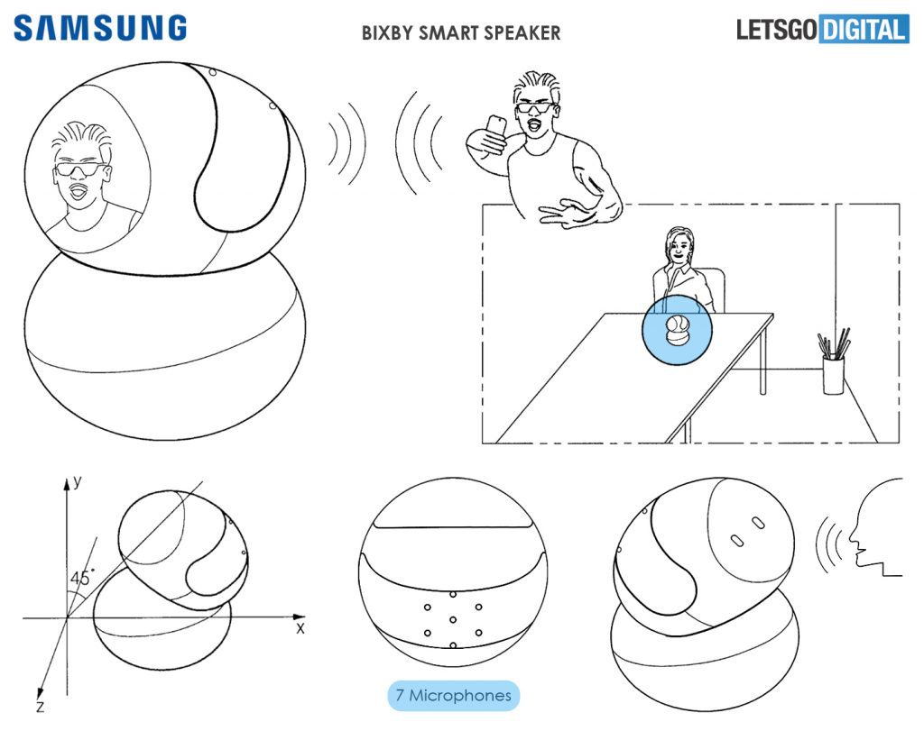 Samsung Might Be Working On A Bixby Speaker With Mic