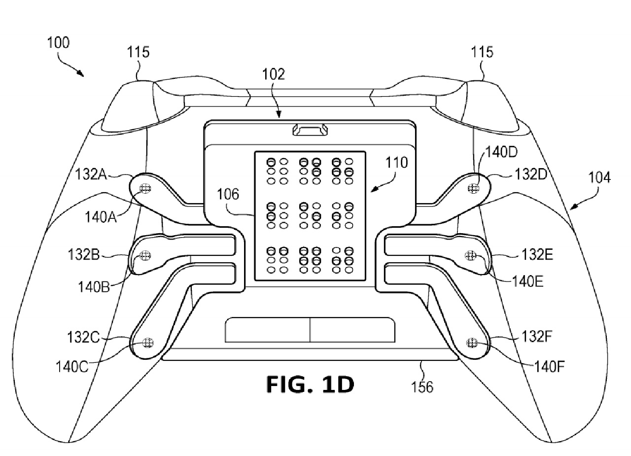Microsoft Patents New Xbox Controller With Haptic Braille