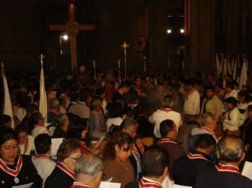 Celebración en San Felípe de Jesús