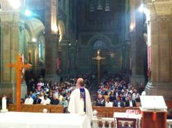 Celebración en el Templo de San Felipe de Jesús