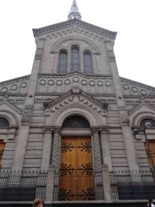 Fachada del Templo expiatorio de San Felipe de Jesús