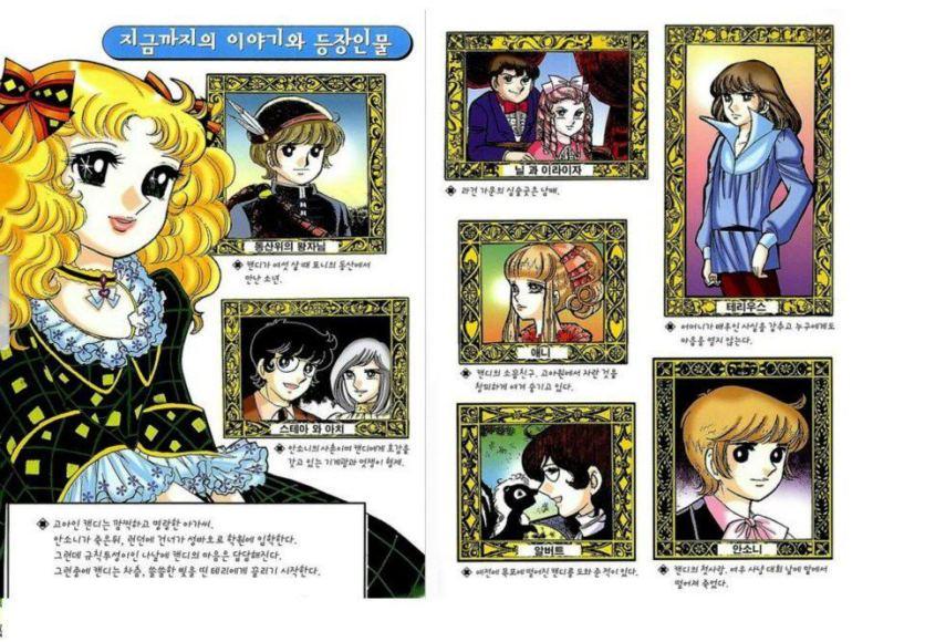 CC characters from Korean manga