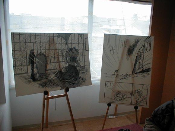Igarashi drawings in manga