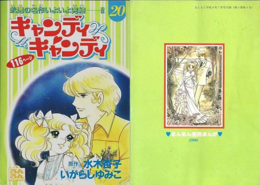 Manga Cover Vol 20 - 1996