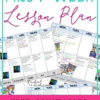 First Week Lesson Plans + Resources