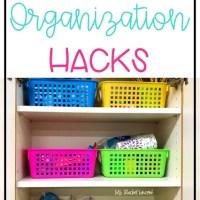3 Amazing Classroom Organization Hacks