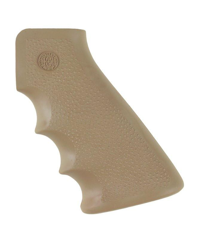 Hogue AR-15/M-16 OverMolded Rubber Grip with Finger Grooves (Options)
