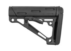 Hogue AR-15/M-16 OverMolded Collapsible Buttstock – Fits Mil-Spec Buffer Tubes – (Options)