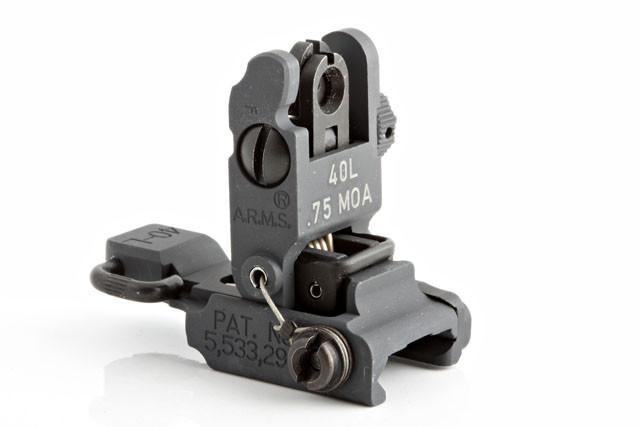 A.R.M.S. #40L Low Profile Rear Sight