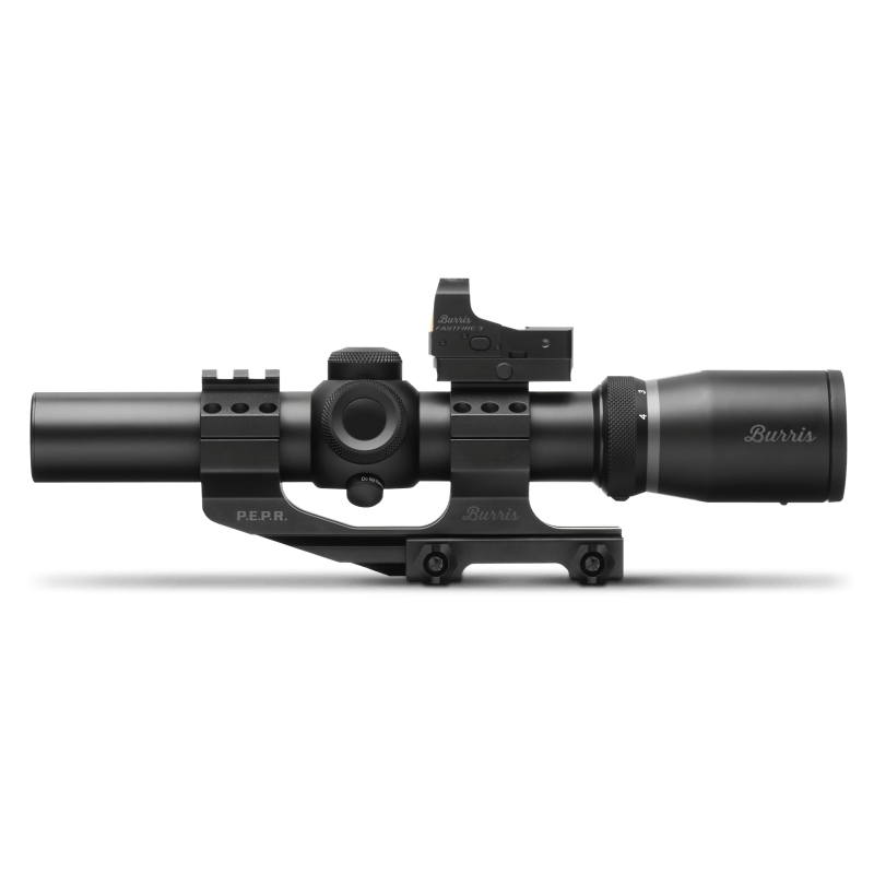 Burris Fullfield TAC30 Riflescope 1-4x24mm Combo Package
