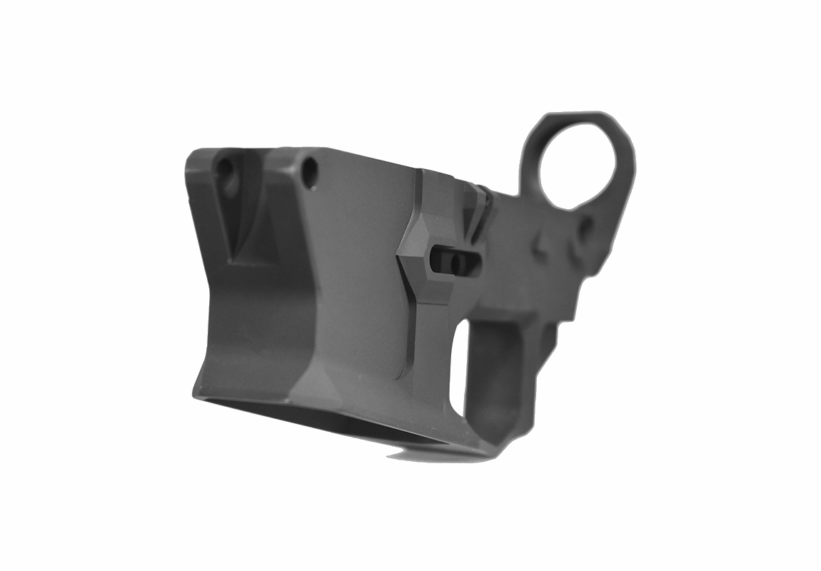 Iconic Industries F-117 Stealth Billet AR-15 or .308 DPMS 80% Lower Receiver (Options)