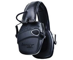 Howard Leight Impact Sport Tactical Black Earmuff