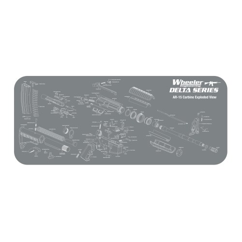 Wheeler AR Maintenance Mat - MSR Arms
