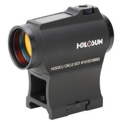 Holosun HS503CU Solar Circle Dot w/Shroud