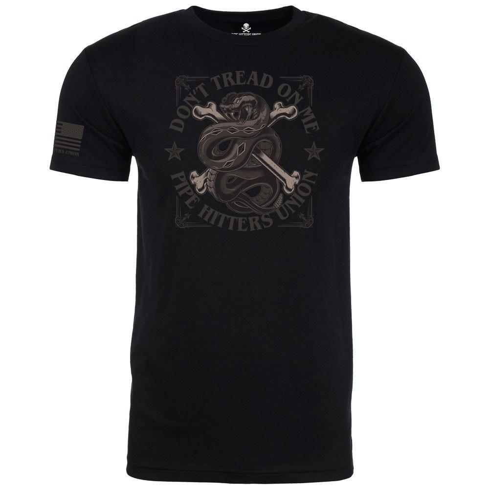 """Pipe Hitters Union """"Don't Tread On Me"""" T-Shirt (Options)"""