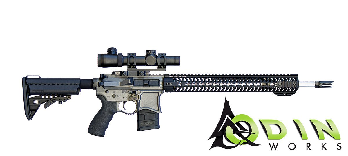 ODIN Works High Profile .308 Handguard (Options)