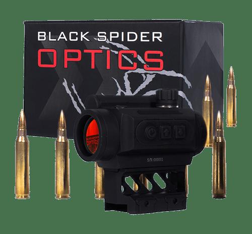 Black Spider Optics M0129 Micro Red Dot