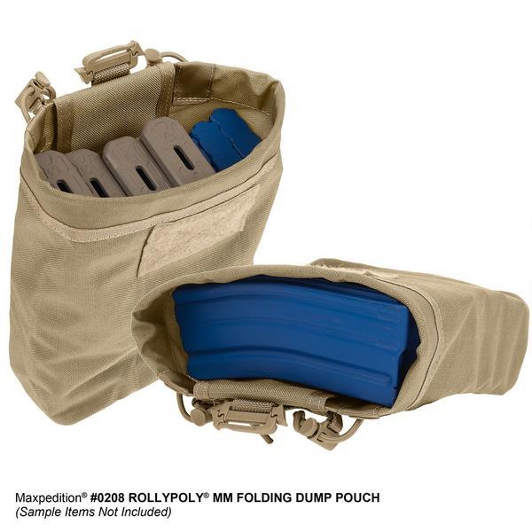 Maxpedition Rollypoly MM Folding Dump Pouch (Options)
