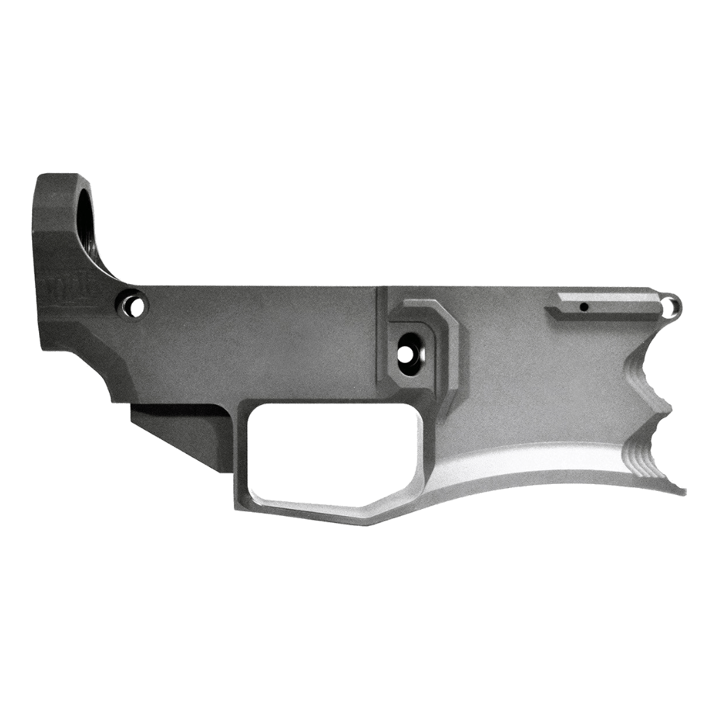 Iconic Industries Gen2 Instigator Billet AR-9, .308 DPMS or AR-15 80% Lower Receiver (Options)