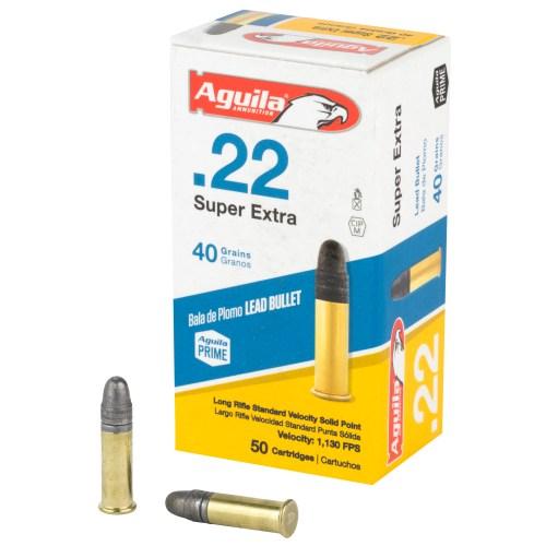 Aguila Ammunition 22LR 40GR Standard Velocity Solid Point 50 Round Box - MSR Arms