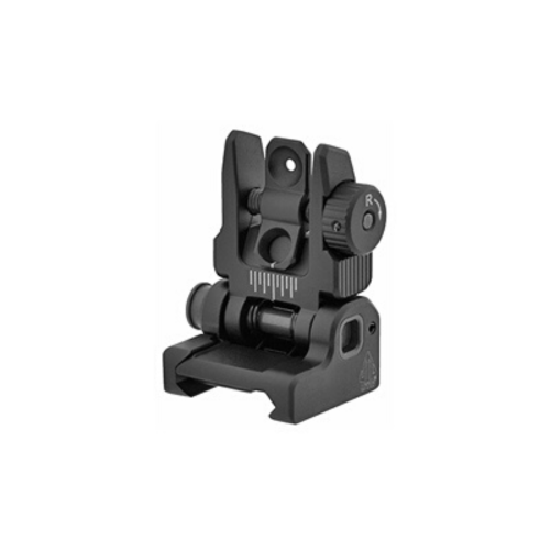 Leapers UTG Accu-Sync Spring-loaded AR-15 Flip-up Rear Sight - MSR Arms