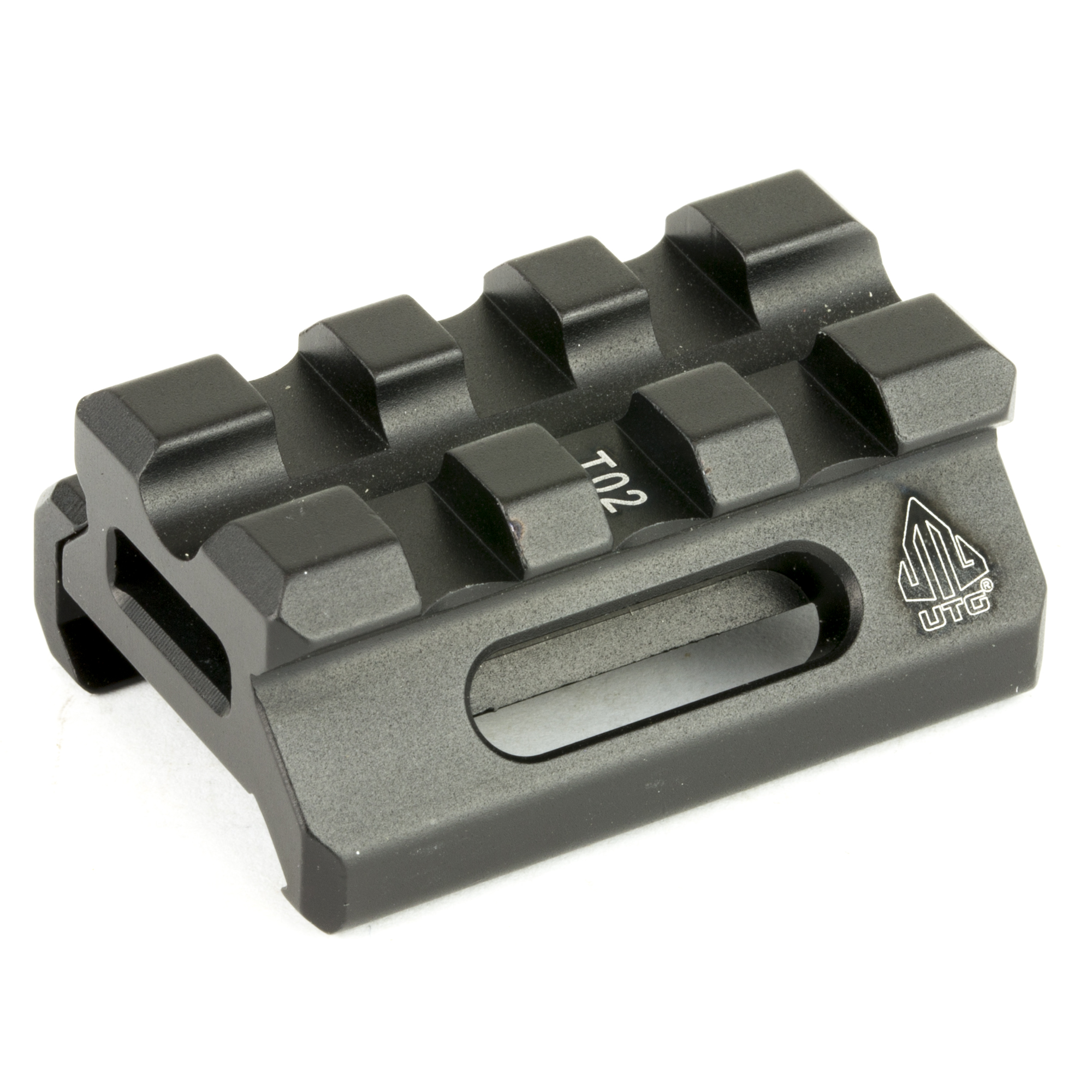Leapers UTG Super Slim Picatinny Riser Mount - MSR Arms