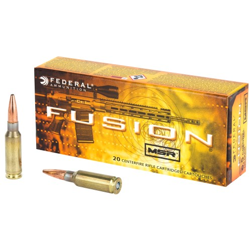Federal 6.5 Grendel 120 GR Fusion MSR Soft Point 20 Round - MSR Arms