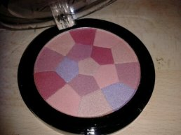 MUA Mosaic Blusher - English Rose open