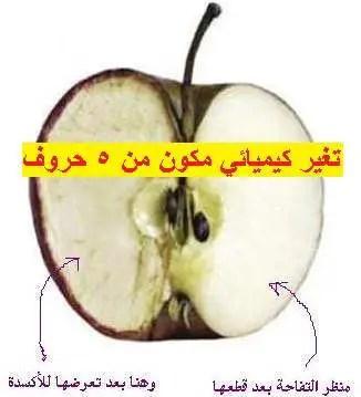 حل لغز تغير كيميائي مكون من 5 حروف موقع مصري