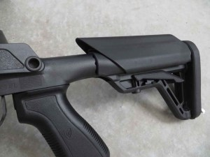 The five-position stock means the SOCOM 16 can be adjusted to fit your stature and the gear or clothing you are wearing.