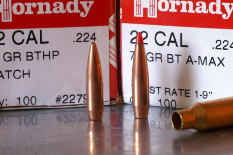 bullets compared