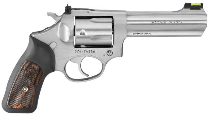 Ruger's Kit Gun with a Wallop